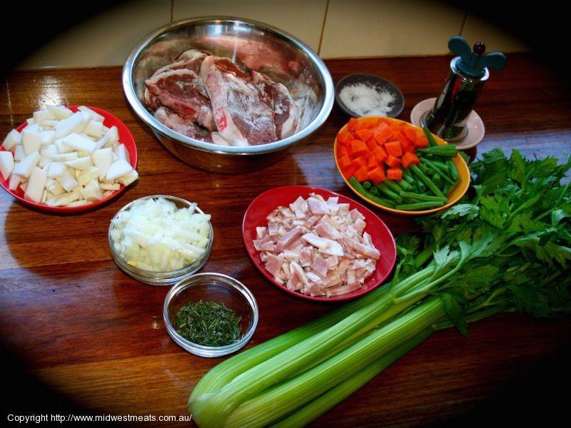 Lamb Chump Chop Irish Stew