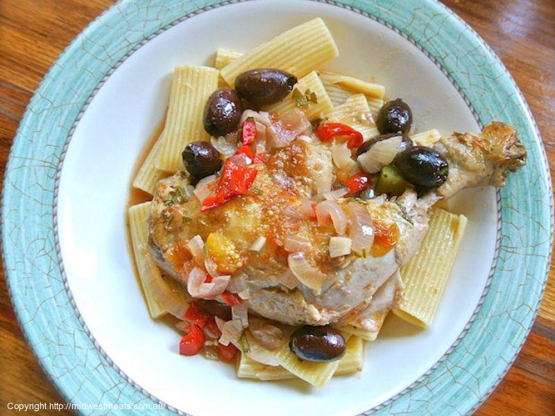 Braised Italian Chicken Maryland
